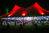 The VIP tent at Bourbon & Beyond was like a beacon in the night for those seeking comfort. 9/23/17