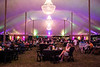 A large VIP tent at Bourbon & Beyond offered comfortable seating in lots of space. 9/23/17
