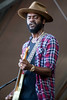 Gary Clark, Jr. performed on the Barrel Stage as one of the day two headliners on Sunday at Bourbon & Beyond. 9/24/17