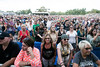 A crowd gathered near the foot of the stage for Paul Rodgers on day two of Bourbon & Beyond. 9/24/17