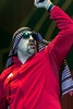 Rapper B-Real (Cypress Hill) took to the stage as a member of Louder Than Life's Sunday headliner Prophets of Rage. 10/1/17