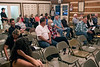 Around two dozen residents of Utica, Indiana attended a town council meeting on Tuesday night to voice opposition to planned billboards along I-265 near the newly opened Lewis & Clark Bridge. 10/10/17