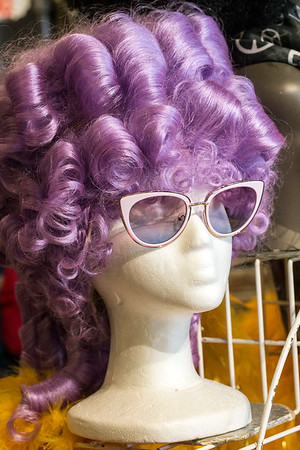 A number of wigs can be found at The Nitty Gritty with the ability to complete a costume for Halloween. 10/17/17