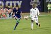 Lou City FC's Kyle Smith works the ball toward the goal against Bethlehem Steel FC. 10/20/17