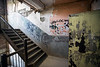 A stairwell at Waverly Sanatorium shows how the building have aged naturally since its closing nearly 60 years ago. 10/16/17
