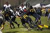 PRP running back Bryson Washington makes his way past the Central defense. 10/27/17