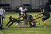 Heavy rain made for a wet and wild field at Central High on Friday night. 10/27/17
