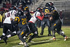 Central RB Takaius Linton goes head to head against PRP's Korei Sheppard. 10/27/17