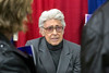Marvel Comics legend Jim Steranko (Captain America, The Hulk, X-Men) chats with his many fans during an autograph session at the Derby City Comic Con on Saturday. 10/28/17