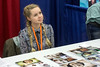 Norwegian actress Ingvild Deila (Princess Leia, Star Wars: Rogue One) greeted fans during the Derby City Comic Con on Saturday. 10/28/17