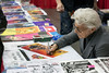 """Jim Steranko, considered to be one of the """"five most influential comics artists in the history of the form,"""" signed autographs on Saturday at the Derby City Comic Con. 10/28/17"""