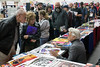 Legendary comics artist Jim Steranko (Marvel) was the most popular guest on Saturday at the Derby City Comic Con. 10/28/17