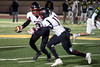 PRP QB BJ Robinson hands off to Dewayne Hall against St. X in a playoff game on Friday. 11/10/17