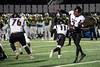 PRP QB BJ Robinson passes down field against St. X on Friday. 11/10/17
