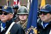 Kevin Combs II wore a WWII era uniform during the annual Veterans Day Parade in downtown Louisville. 11/11/17