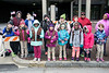 Local Girl Scouts cheered on participants in the Veterans Day Parade on Saturday morning. 11/11/17