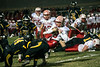 Belfry QB Avery Browning is taken down by the Central defense. 11/17/17