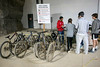 Bikes can be rented for exploration of the Louisville Mega Cavern. 11/22/17