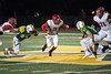 Scott County halfback Brice Fryman finds a hole against the St. X defense. 11/24/17