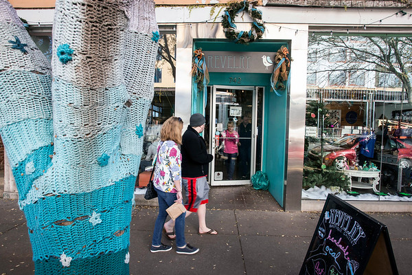 Revelry on East Market Street attracted customers on Small Business Saturday with its charm and locally crafted items. 11/25/17