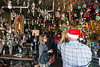 Red Tree on East Market Street featured a 50% off sale on the 3000+ ornaments suspended from the shop's ceiling on Small Business Saturday. 11/25/17