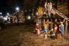 A classic nativity scene was set up on the front lawn of St. James Church during the 32nd Annual Bardstown Road Aglow on Saturday night. 12/2/17