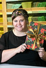 Ashley Wittenborn is a seasoned gift wrapper during the holidays for customers at The Paper Source in St. Matthews. 12/6/17