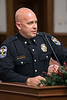 LMPD Major Billy HIbbs, the Commander of the 9th Mobile Division, answered questions during the department's annual crime report to the Louisville Metro Council. 12/6/17
