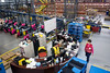A supervisor station in the Radial Fulfillment & Distribution facility stays busy as jobs are assigned and completed. 12/8/17