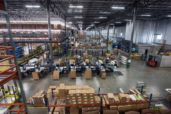 The massive shipping company known as Radial Fulfillment & Distribution employs 250 workers but will balloon as high as 900 during peak seasons. 12/8/17