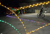 A 1.2 mile course in the Louisville Mega Caverns was opened to the Louisville Bicycle Club on Saturday to enjoy an annual ride through the Lights Under Louisville exhibit. 12/9/17