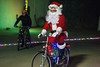 Santa took part in a Mega Cavern tour with the  Louisville Bicycle Club on Saturday afternoon. 12/9/17