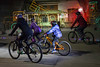 An estimated 90 cyclists took part in a tour of the Louisville Mega Cavern's Lights Under Louisville on Saturday. 12/9/17