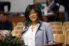 Nikki Boyd spoke to the Louisville Metro Council on Monday as part of an interview process to replace Dan Johnson in District 21. 12/11/17