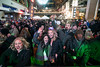 There were smiles, hugs, and kisses throughout the crowd as thousands celebrated together at Fourth Street Live on New Year's Eve 2017. 12/31/17