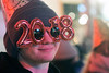 2018 was celebrated in style on Sunday night as revelers sported gear proclaiming the arrival of the new year at Fourth Street Live. 12/31/17