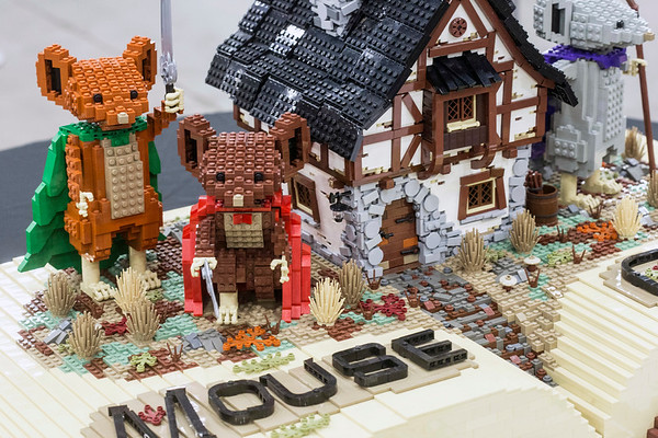A Mouse Guard set was on display at the Brick Universe LEGO Convention. 1/6/18