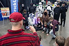Fans gathered around Star Wars characters for photo ops during the Brick Universe LEGO Convention at the Kentucky Expo Center on Saturday afternoon. 1/6/18