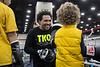 TKO Boxing's James Dixon instructs junior pugilists during Sports Fest. 1/7/18