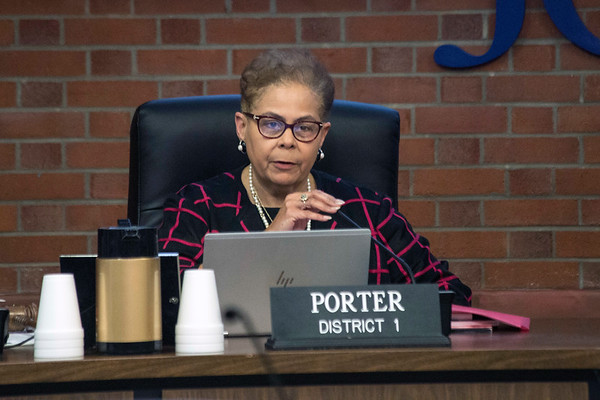 Diane Porter was elected as the 2018 chairwoman of the Jefferson County Board of Education on Tuesday night. Porter has represented District 1 since November 2010. 1/9/17