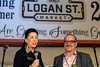 District 4 councilwoman Barbara Sexton Smith joined Mike Safai on stage during an open house for his new Logan Street Market on Saturday night. 1/20/18