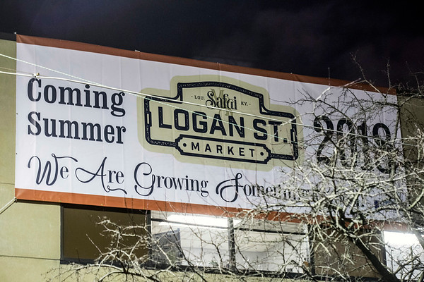 The Logan Street Market will be located in the old Axton Factory between St. Catherine and Kentucky Streets in Smoketown. 1/20/18
