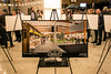 Artist renderings for the new Logan Street Market were on display for guests to view during a Saturday night open house at the Smoketown location. 1/20/18