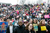 It was standing room only in the courtyard of the Ali Center on Sunday as thousands gathered for the Louisville Women's Rally. 1/21/18