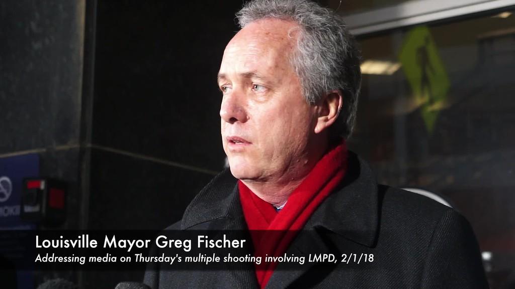 LMPD Officer Shot (Mayor-Chief)--PEARL