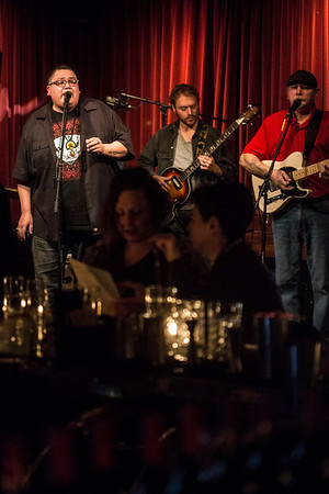 The soul band J-Council played a free show at Butchertown Grocery on Monday night. The set was presented by the Courier Journal and performed in the restaurant's upstairs bar Lola's. 2/5/18