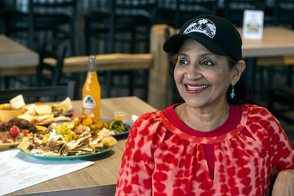 Naila Seow of Trinidad is the chef at Naila's Caribbean Cuisine. 2/14/18