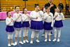 The team from Wayne County sang the National Anthem to start the Special Olympics Kentucky cheerleading competition at Fern Creek High on Saturday. 2/17/18
