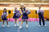 Kassie Douglas of the Louisville Royals busts a move during her team's performance at the Special Olympics Kentucky cheerleading competition. 2/17/18