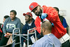 The line began to form shortly after noon on Sunday as people waited for free hair cuts courtesy of J. Alexander and other barbers at Wayside Christian Mission. 2/18/18